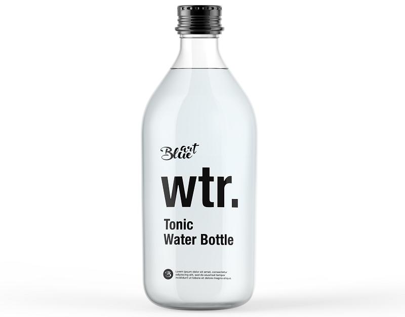 Butelka z odpowiednim nadrukiem jako pełna forma promocji